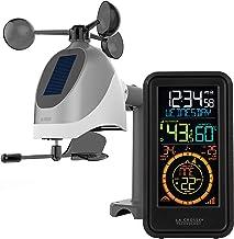 La Crosse Technology S81120-INT Wireless Combo Weather Station with New Breeze Solar Wind Sensor, Black