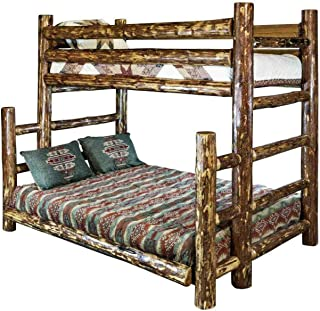 Montana Woodworks Glacier Country Collection Twin Over Full Bunk Bed