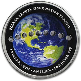 solar eclipse 2017 coin