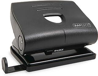 Rapesco PF8700B1 820-P 2-voudige perforator (22 vellen stanscapaciteit) zwart