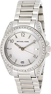 Michael Kors Womens Quartz Watch, Analog Display and Stainless Steel Strap MK5333