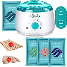 Lansley Home Waxing Kit for Women Men with Comprehensive Formulated Hard Stripless Wax,..