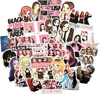 54 PCS Creative Kpop Blackpink Lisa Sticker for Album Suitcase Sticker for Fans Collection