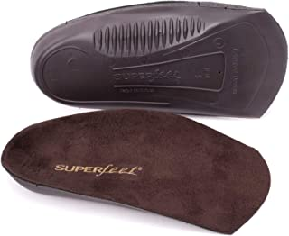 Superfeet EASYFIT Men`s Dress Shoe Comfort Orthotic Inserts for Heel and Arch Support, Mens, Java