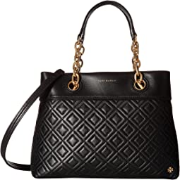cbd215362320 Tory Burch. Harper Small Satchel.  296.25MSRP   395.00. 1Rated 1  stars1Rated 1 stars. Black