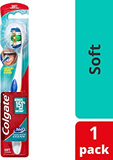 Colgate 360 Whole Mouth Clean Toothbrush Soft 1pk