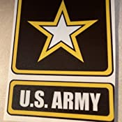 Premium Quality Vinyl Decal CMI NI881 US Army Logo Decal Sticker 5.5-Inches by 4-Inches