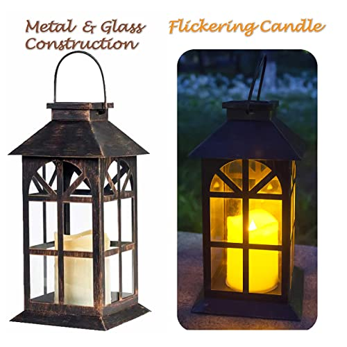 Solar Garden Light Lantern: Solar Powered Outdoor Lanterns: Amazon.com