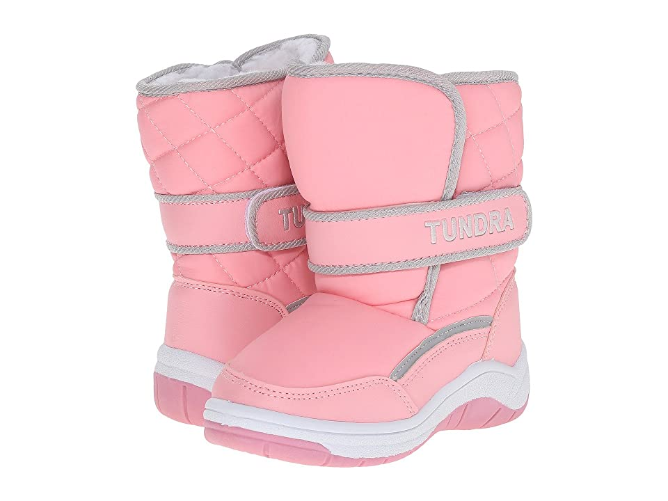 Tundra Boots Kids Snow Kids (Toddler) (Pink) Girls Shoes