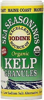 Kelp Granules Sea-Seasoning Shaker (Kelp Blend)   1.5 oz tube   Organic Seaweed Seasoning   Maine Coast Sea Vegetables
