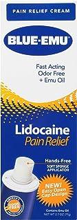 Best Blue-Emu Lidocaine Pain Relief Cream Maximum Strength Numbing Pain Relief Cream, 2.7 Ounce Review