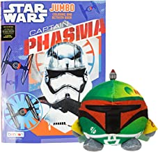 Set of 2 Star Wars The Force Awakens Jumbo Coloring Activity Book & Boba Fett Night Light! 50 Pages - Tear and Share Pages -Star Wars Themed Nightlight Perfect for any Star Wars Fan!