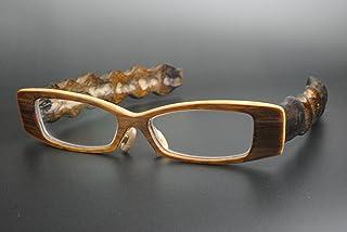 竹製めがねフレーム HO-915F(DOKUSOU TIKUHOU)【ルーツ】【鯖江産】【木のめがね】【竹めがね】【布袋竹】