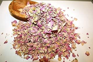 Organic Bio Herbs Dried Rose Petals (Rosa Damascena), 2 oz