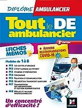 Tout le DE - Ambulancier - modules 1 à 8 en fiches mémos - DEA - Révision 3e édition (Blocs - Métiers de la santé) (French...