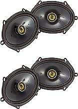 Kicker CS Series CSC68 6 x 8 Inch Car Audio System Speaker, Yellow (2 Pair) photo