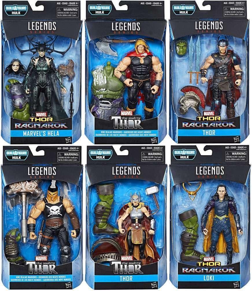 Marvel Legends Thor Ragnarok 6-Inch 6 Action Figures Set Of Max 62% Popular standard OFF