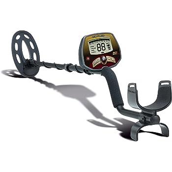 Bounty Hunter Quick Draw Pro Metalldetektor Metallsuchgerät mit 9-Segment-Zielobjekt-Identifizierung zum Aufspüren von verschiedenen Metallen wie Bronze, Silber oder Gold und mehr