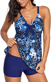 Best plus size tankinis with shorts Reviews