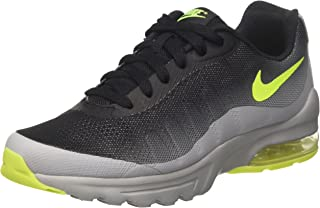 Nike Air Max Invigor (GS) Big Kid's Shoes Wolf Grey/Volt/Black 749572-002