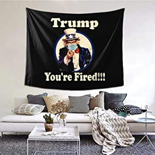 Moaulu Tapestry 51×60 Inches Trump Youre Fired Anti Trump Biden Won Trump Lost 2020..