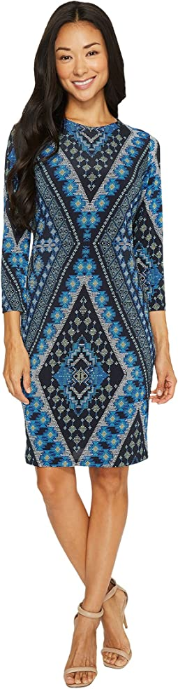 Karen Kane - Diamond Print Sheath Dress