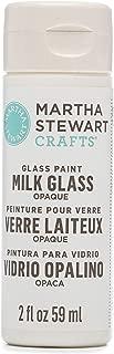 MARTHA STEWART Opaque Glass Milk White, 2 oz Paint