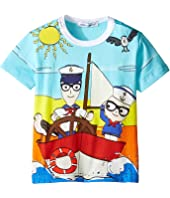 Dolce & Gabbana Kids - Mare Marine T-Shirt (Infant)