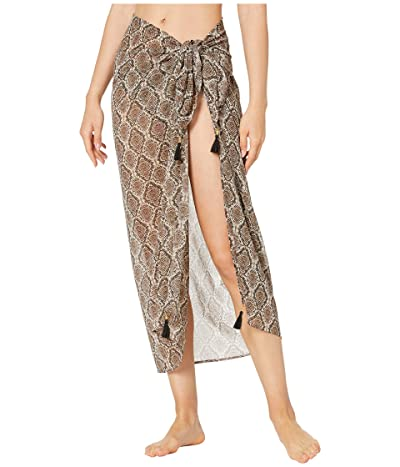 Tommy Bahama Desert Python Pareo Cover-Up (Caffe) Women