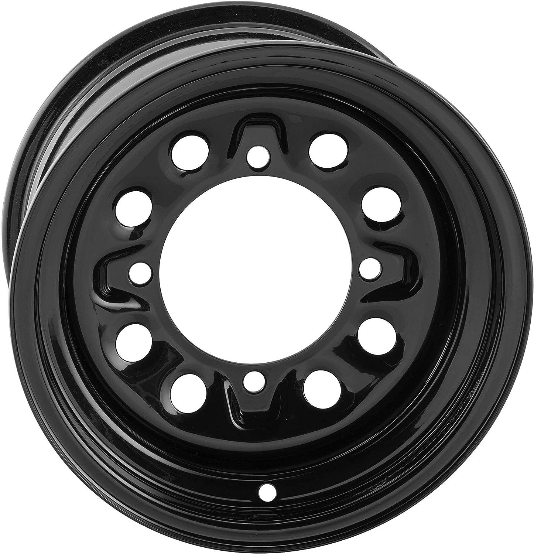 QuadBoss RT-FC0036147156BLA Steely Super sale period limited Wheel 35% OFF - 156 14x7-4+3-4 Blac
