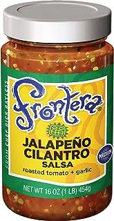 FRONTERA Gourmet Mexican Jalapeño Cilantro Salsa, Medium, 16 oz.