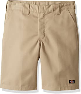 Dickies Boys Flexwaist Flat Front Short W/Extra Pocket Husky