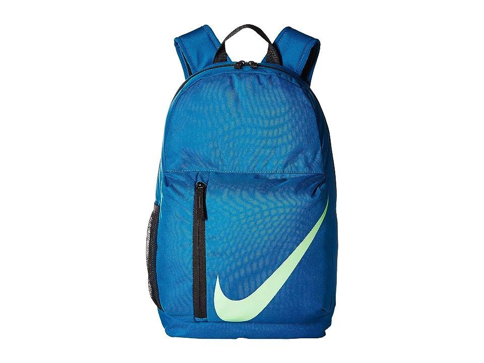 Nike Kids Elemental Backpack (Little Kids/Big Kids) (Green Abyss/Black/Barely Volt) Backpack Bags