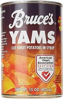 Bruce's Yams Yams Cut Sweet Potatoes In Syrup, 15 oz