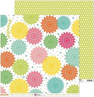 Anita y Su Mundo Collection Cartes de scrapbooking, papier, rosace 30,5 x 30,5 cm