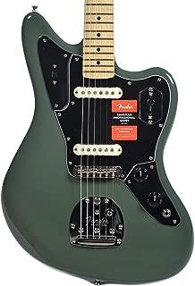 Fender American Pro Jaguar MN Antique Olive w/Black Pickguard