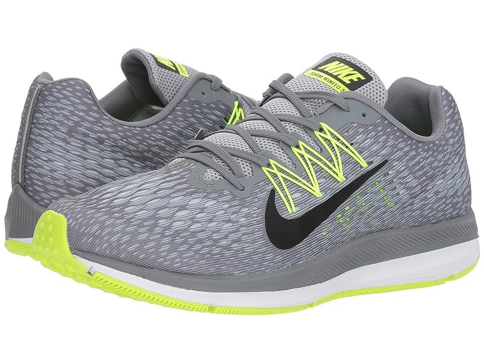 Nike Air Zoom Winflo 5 (Cool Grey/Black/Wolf Grey/Pure Platinum) Men