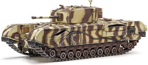 Dragon Models Churchill Mk.III 145th Royal Armoured Corps 21st Brigade Junior Regiment Tank Model Building Kit, 1:72 Scale