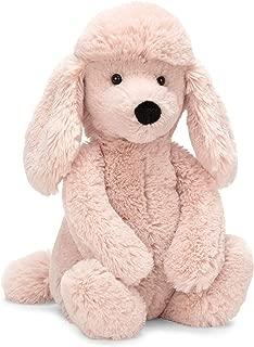 Jellycat Bashful Blush Poodle Stuffed Animal, Medium, 12 inches