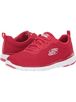 Skechers red + FREE SHIPPING | Zappos.com