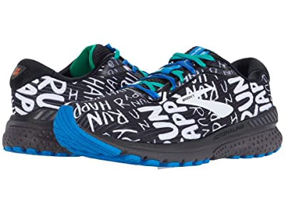 Brooks Adrenaline GTS 20 (Black/White/Multi) Men