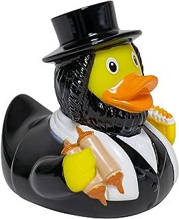 Lilalu Jewish Rabbi Rubber Duck Bathtime Toy