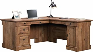 Sauder Palladia L-Shaped Desk, L: 68.74