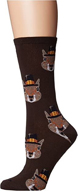 Socksmith Pilgrim Squirrels