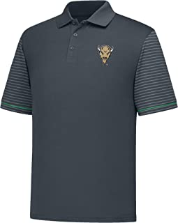 J America NCAA Men's Linebacker Dyed Colorbock Polo