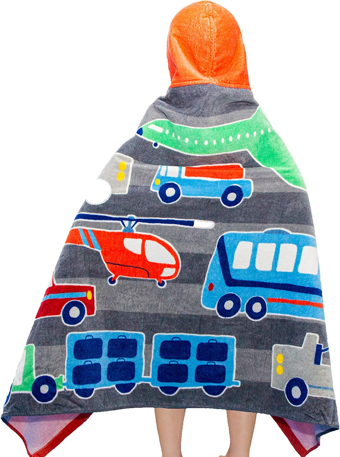 VNICGFOMGT Hooded Tucson Mall Towel for Weekly update Toddler Kids Beac Cotton Girls Boys