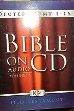 Bible On Audio CD volume 12 KJV Deuteronomy 1-16 Old Testament, By Greenbrier