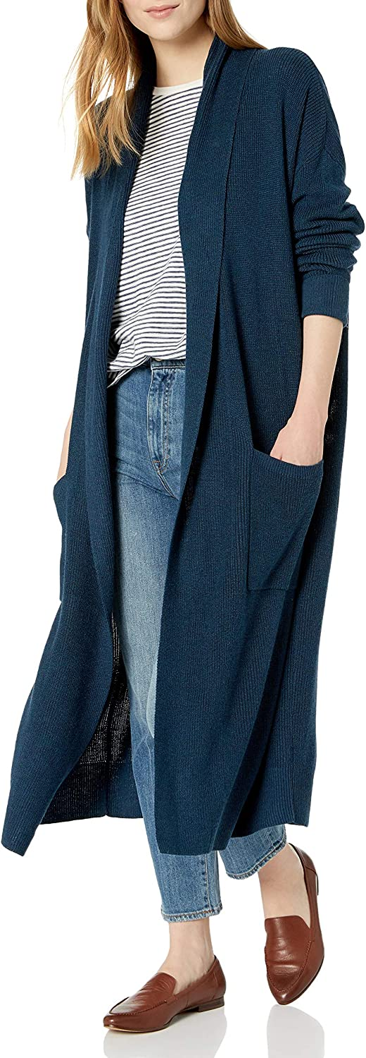 Cable Stitch Women's Max 54% OFF Open Cheap mail order sales Long Placket Cardigan