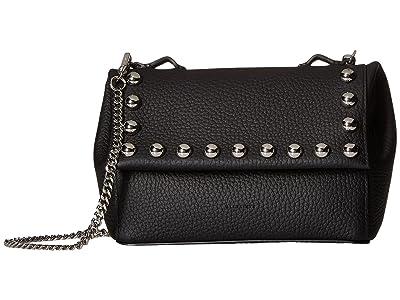 AllSaints Cami Mini Crossbody (Black) Cross Body Handbags