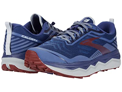 Brooks Caldera 4 (Deep Cobalt/Blue/Red) Men